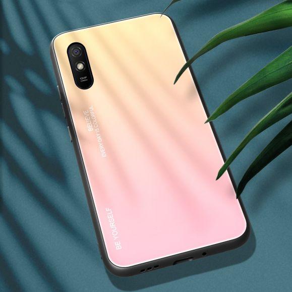 Coque Xiaomi Redmi 9A dégradé de couleurs