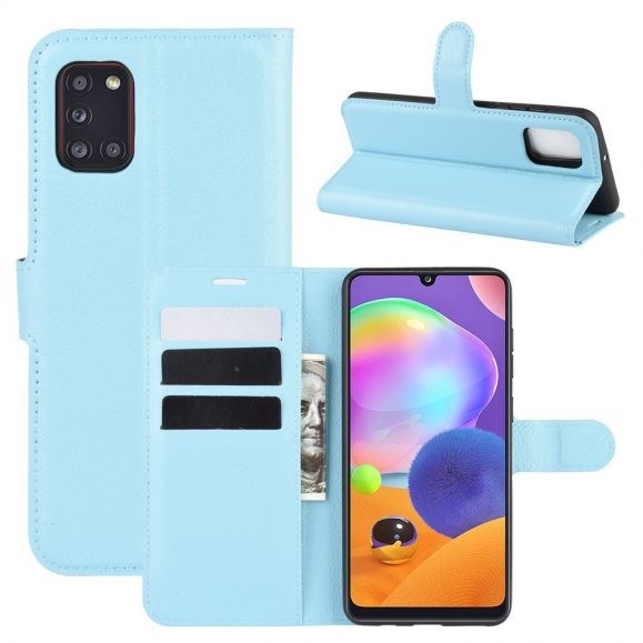 Housse Samsung Galaxy A31 portefeuille style cuir
