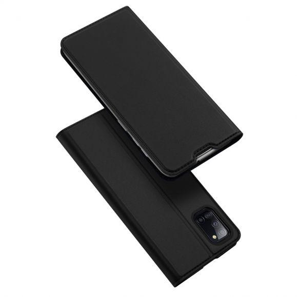 Étui folio Samsung Galaxy A31 effet satiné