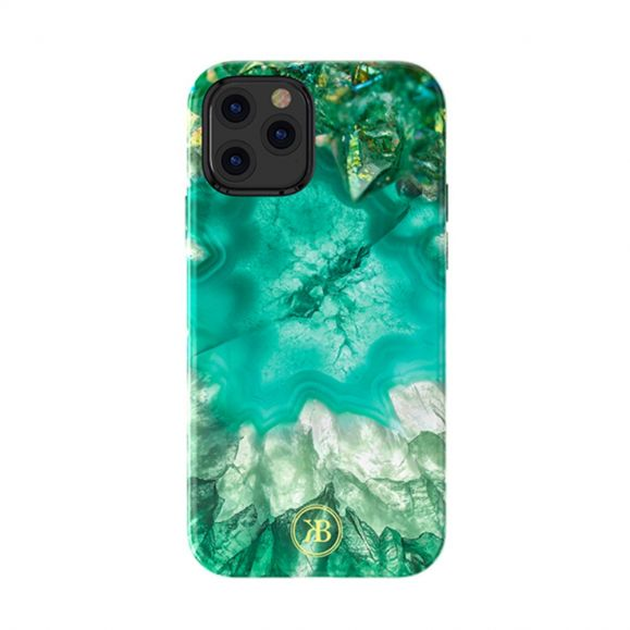 Coque iPhone 12 Pro Max Crystal Series - Vert