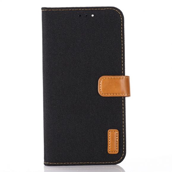 Housse iPhone 12 Pro Max Oxford effet toile