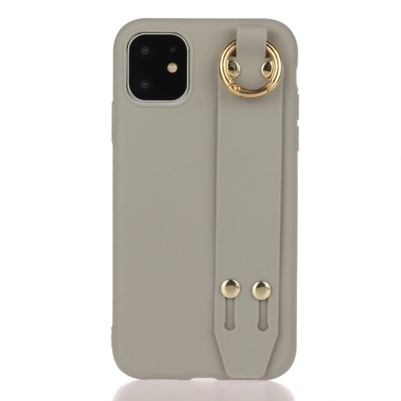 Coque iPhone 12 Pro Max Strap en silicone