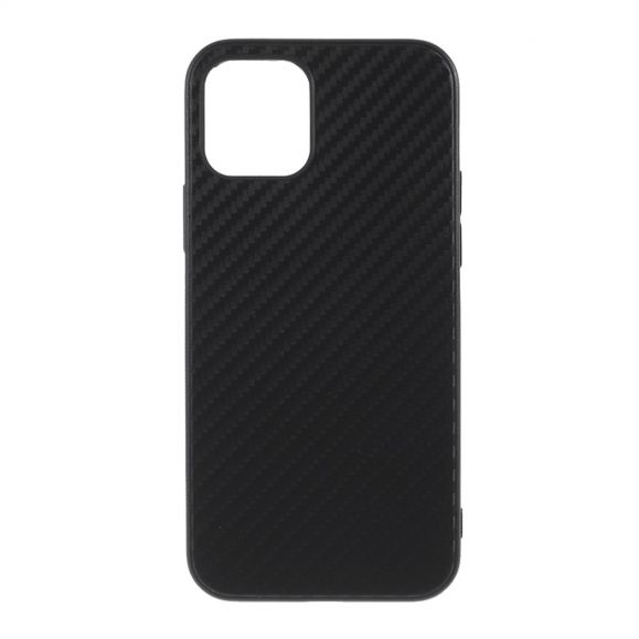 Coque iPhone 12 Pro Max aspect fibre de carbone