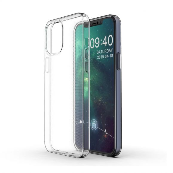 Coque iPhone 12 Pro Max Fine et Transparente