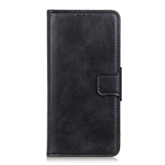 Étui Folio iPhone 12 Pro Max Simili Cuir Fonction Support