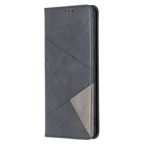 Housse Oppo Find X2 Neo Célinia Style Cuir - Noir