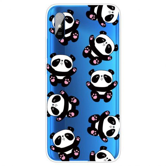Coque Xiaomi Redmi 9A Happy Pandas