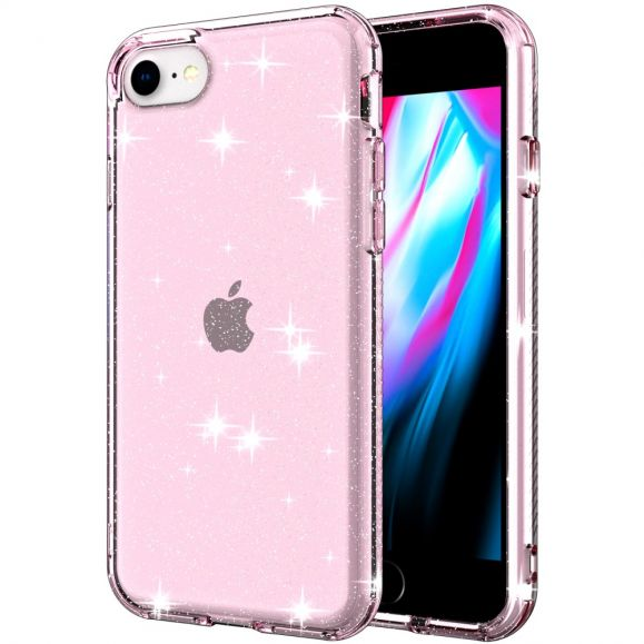 Coque iPhone SE 2 / 8 / 7 Paillettes Scintillantes