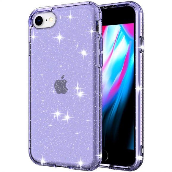 Coque iPhone SE 2 / 8 / 7 Paillettes Scintillantes
