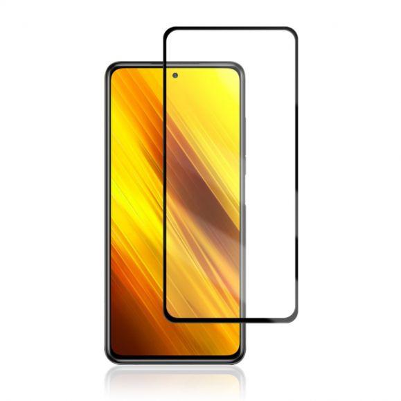 Protection d'écran Xiaomi Poco X3 NFC en verre trempé full size