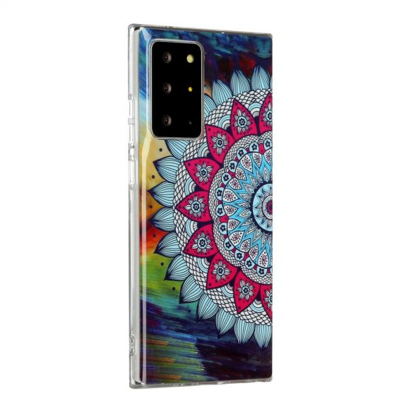 Coque Samsung Galaxy Note 20 Ultra Luminous Mandala Coloré