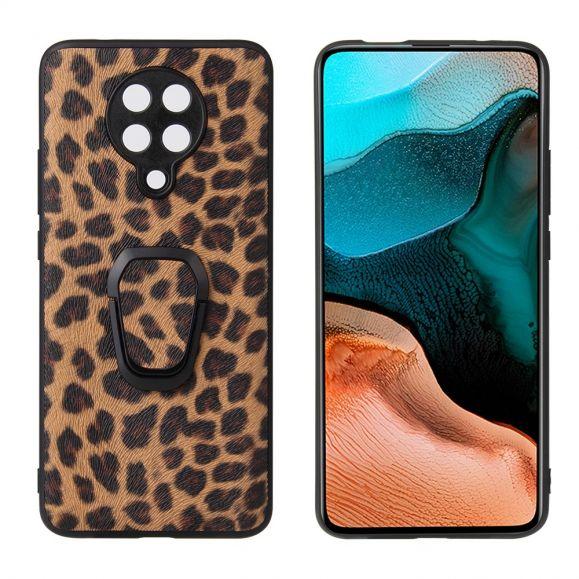 Coque Xiaomi Poco F2 Pro motif léopard avec support