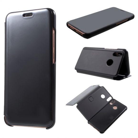 Coque Huawei P20 Lite avec rabat effet miroir