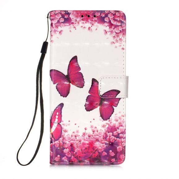 Housse Huawei P Smart 2020 papillons romance