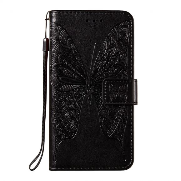 Housse iPhone 12 mini Papillon Relief