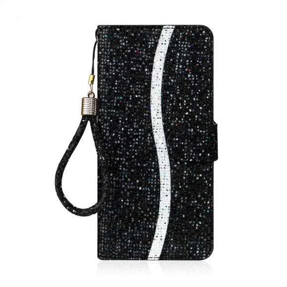 Housse iPhone 12 mini Glitter Porte Cartes