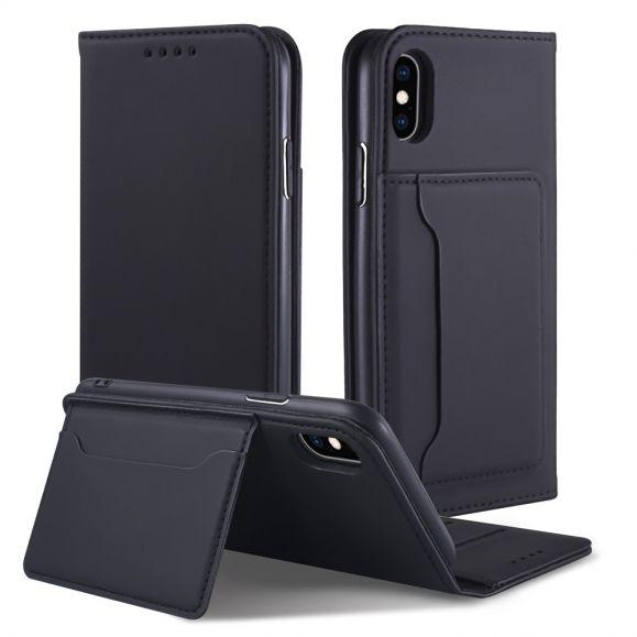 Étui folio soft touch pour iPhone XS / X