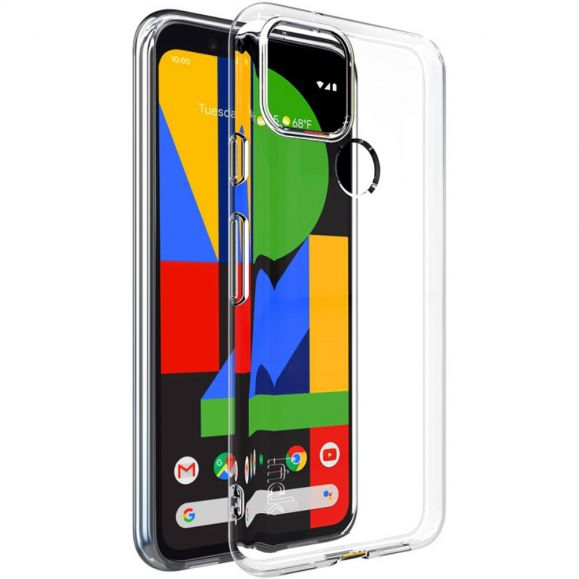 Coque Google Pixel 5 Transparente en Silicone