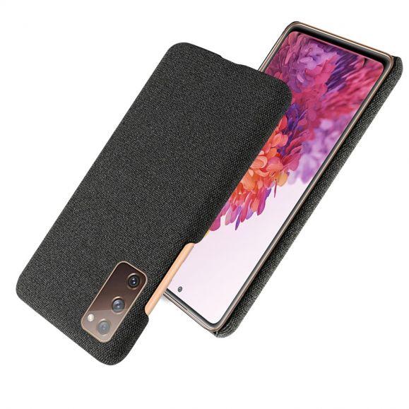 Coque Samsung Galaxy S20 FE revêtement tissu