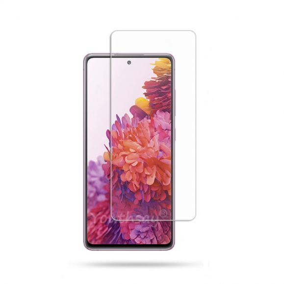 Films en verre trempé pour l'écran du Samsung Galaxy S20 FE (2 pièces)