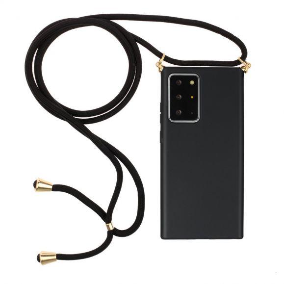 Coque Samsung Galaxy Note 20 Ultra avec cordon bandoulière