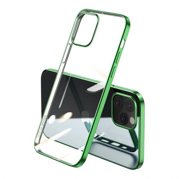 Coque iPhone 12 / 12 Pro Transparente Contours Couleurs