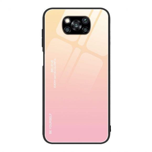 Coque Xiaomi Poco X3 NFC dégradé de couleurs