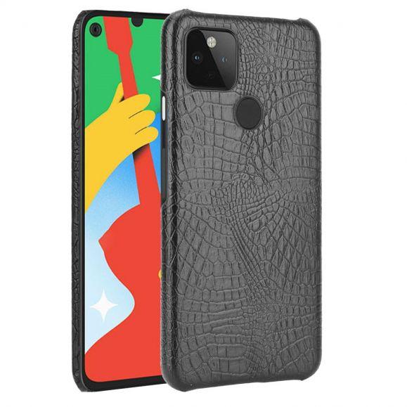 Coque Google Pixel 5 effet peau de croco
