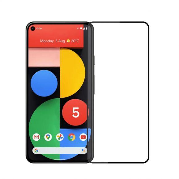 Protection d'écran Google Pixel 5 en verre trempé full size