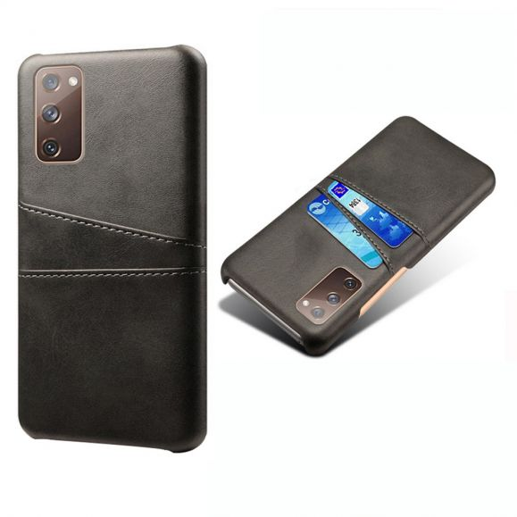 Coque Samsung Galaxy S20 FE Mélodie Effet Cuir Porte Cartes