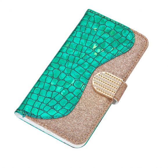 Housse iPhone 12 Pro / 12 Luxury Effet Croco