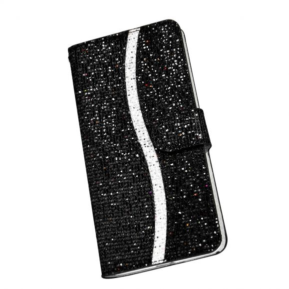 Housse iPhone 12 Pro / 12 Glitter Porte Cartes