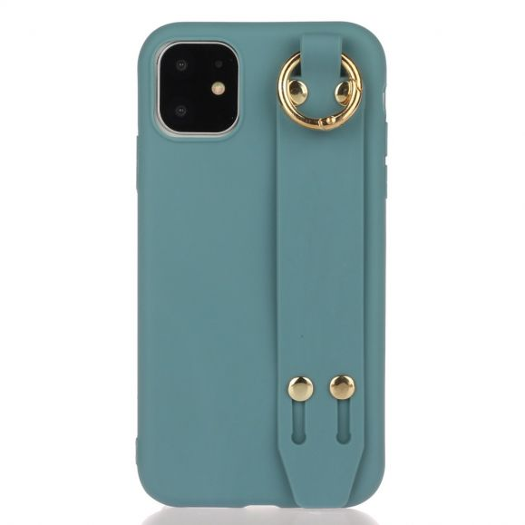 Coque iPhone 12 Strap en silicone