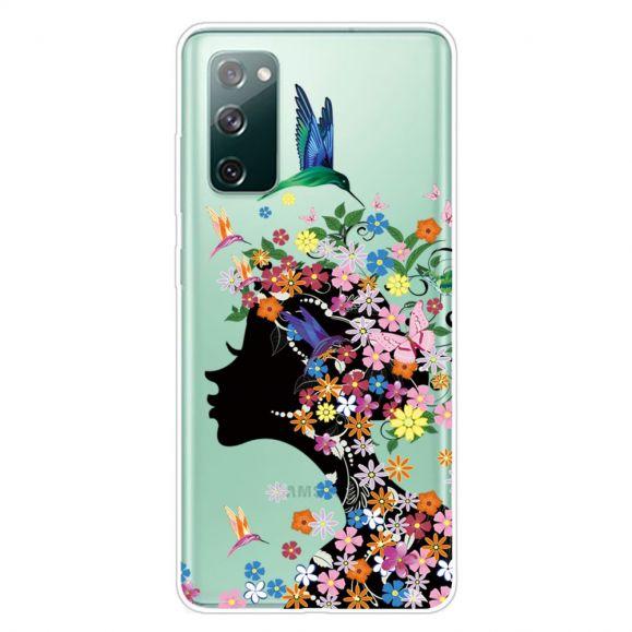 Coque Samsung Galaxy S20 FE colibri fleurs