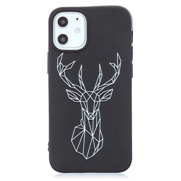 Coque iPhone 12 Pro / 12 Cerf Origami
