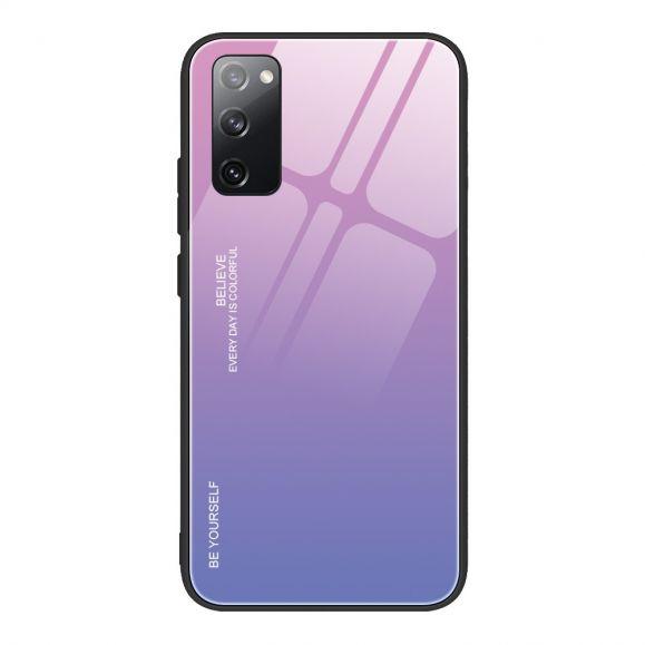 Coque Samsung Galaxy S20 FE dégradé de couleurs