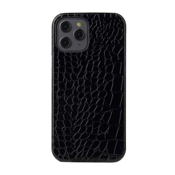 Coque iPhone 12 / 12 Pro Croco Gloss