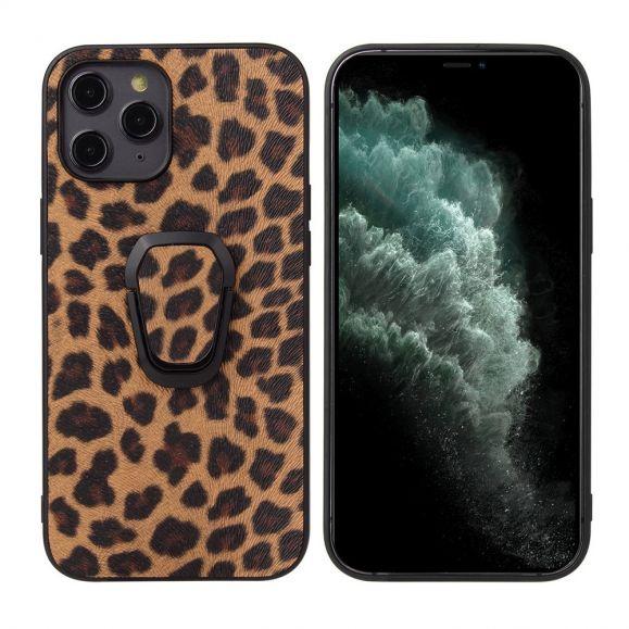 Coque iPhone 12 Pro Max Ring Motif Léopard