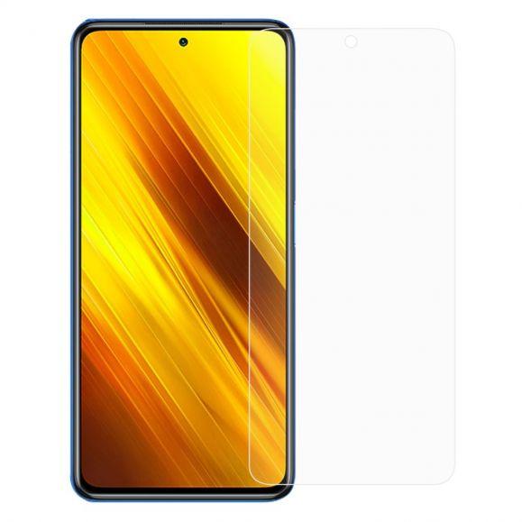 Films protecteurs Xiaomi Poco X3 NFC en verre trempé (2 pièces)