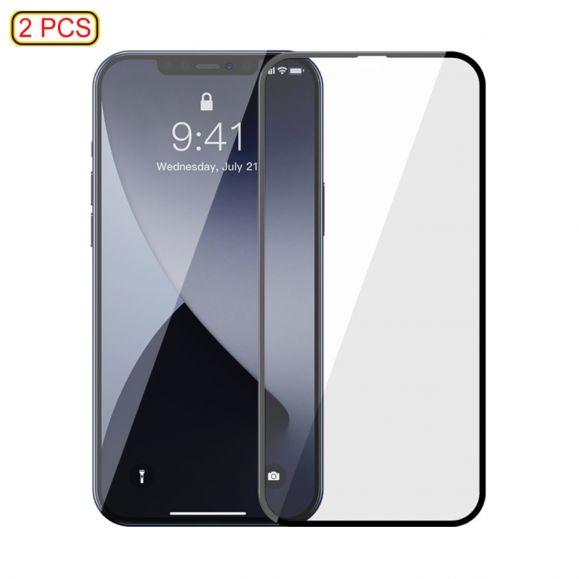 Protections d'écran iPhone 12 Pro / 12 en verre trempé (2 pièces)