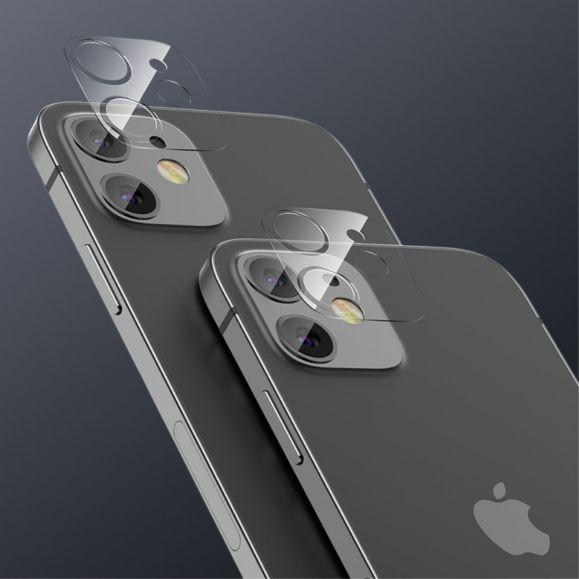Verre trempé pour objectif arrière iPhone 12 - 2 pièces