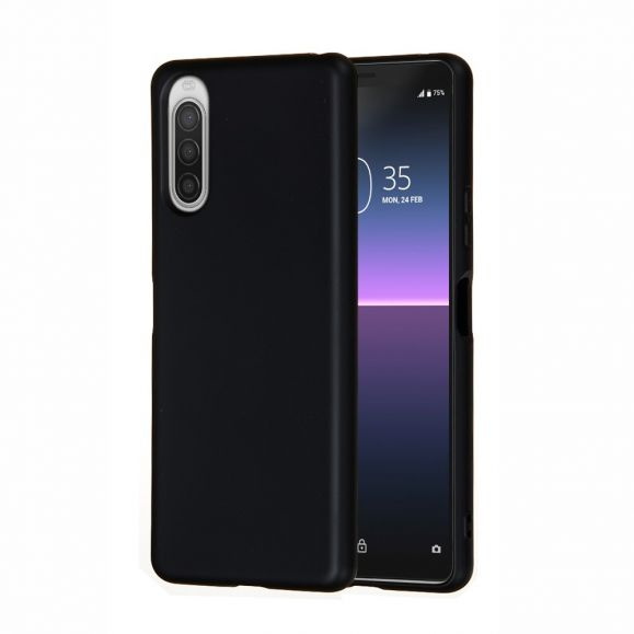 Coque Sony Xperia 10 II Puro silicone liquide