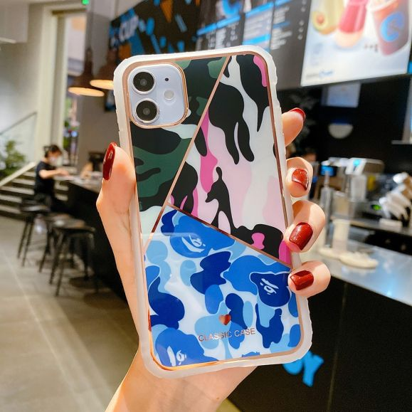 Coque iPhone 12 Pro / 12 Camouflage Coloré