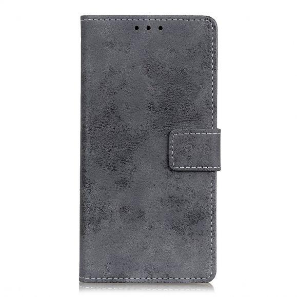 Housse OnePlus 8T Cyrius simili cuir vintage