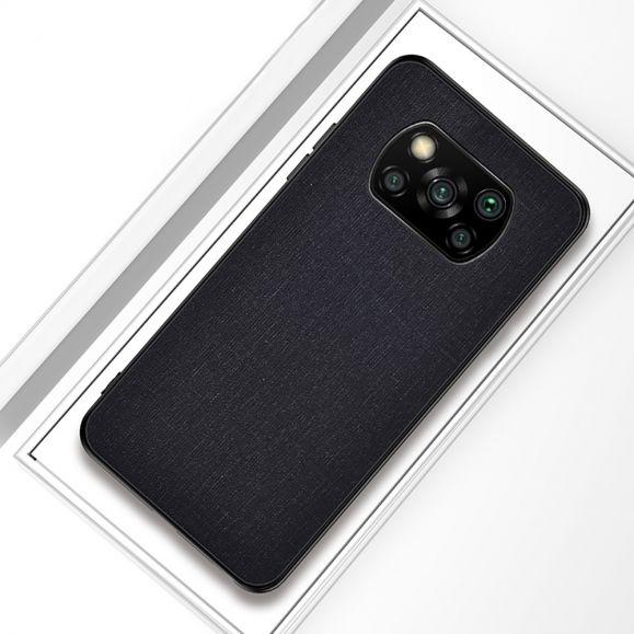 Coque Xiaomi Poco X3 NFC effet tissu