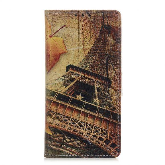 Housse OnePlus 8T Tour Eiffel en Automne