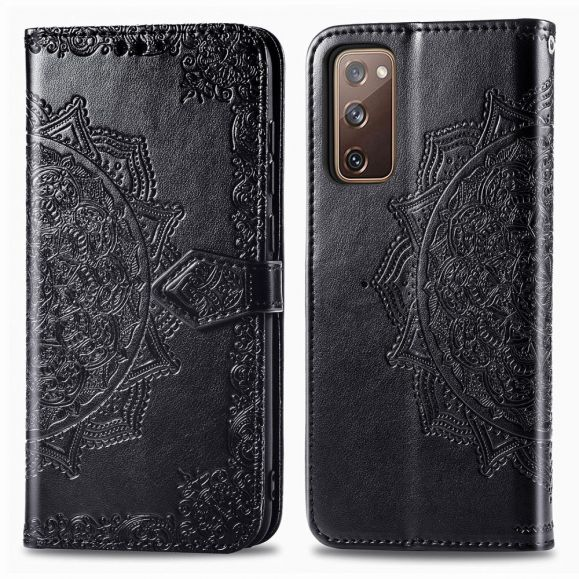 Housse Samsung Galaxy S20 FE Mandala Porte Cartes