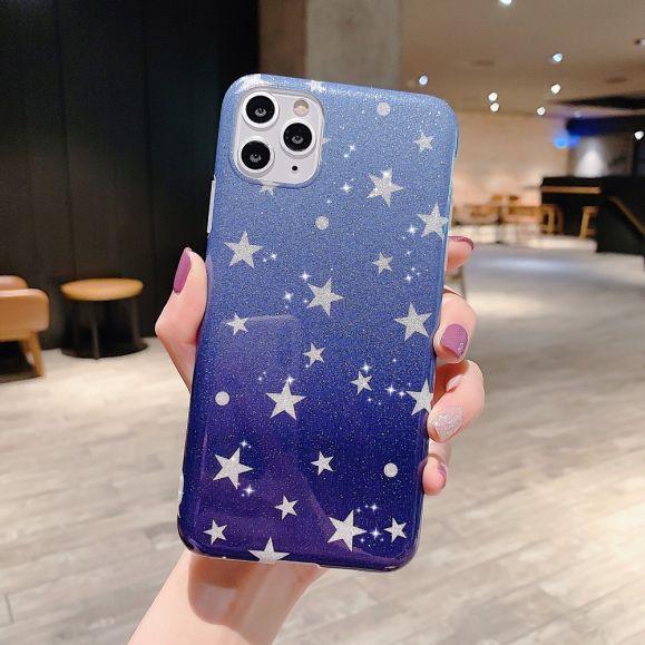 Coque iPhone 11 Pro Max Glamour étoiles