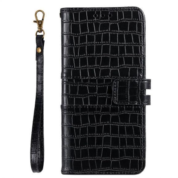 Housse Samsung Galaxy S20 FE Style Cuir Effet Croco