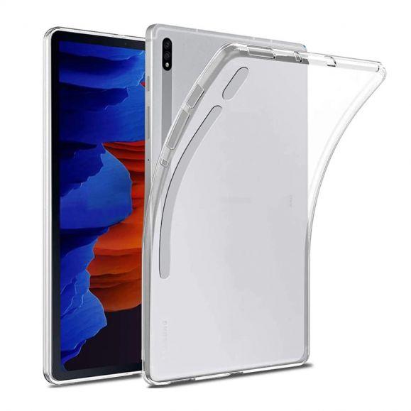 Coque transparente Samsung Galaxy Tab S7 Plus en Silicone